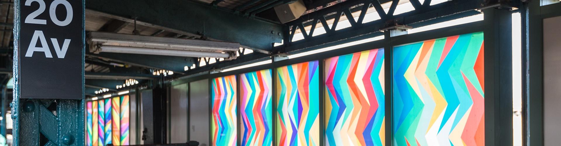 Dixon's Favorite Brooklyn Subway Art