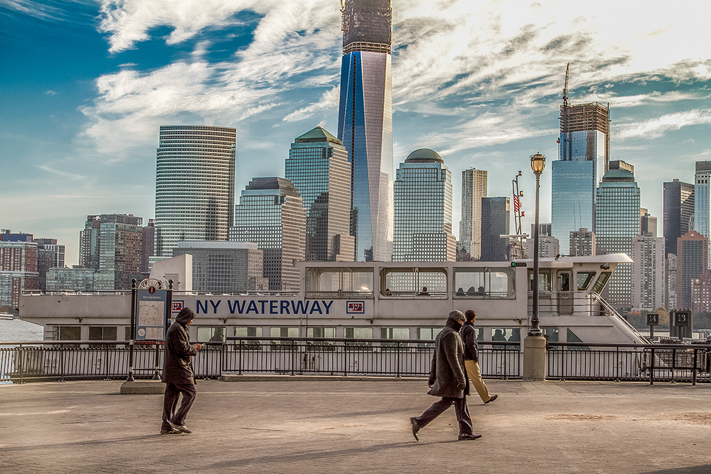 Jersey City waterfront