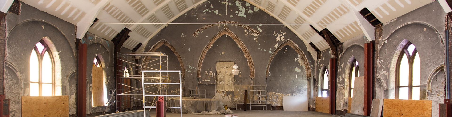 Inside the Renovation: Mercer Street Church