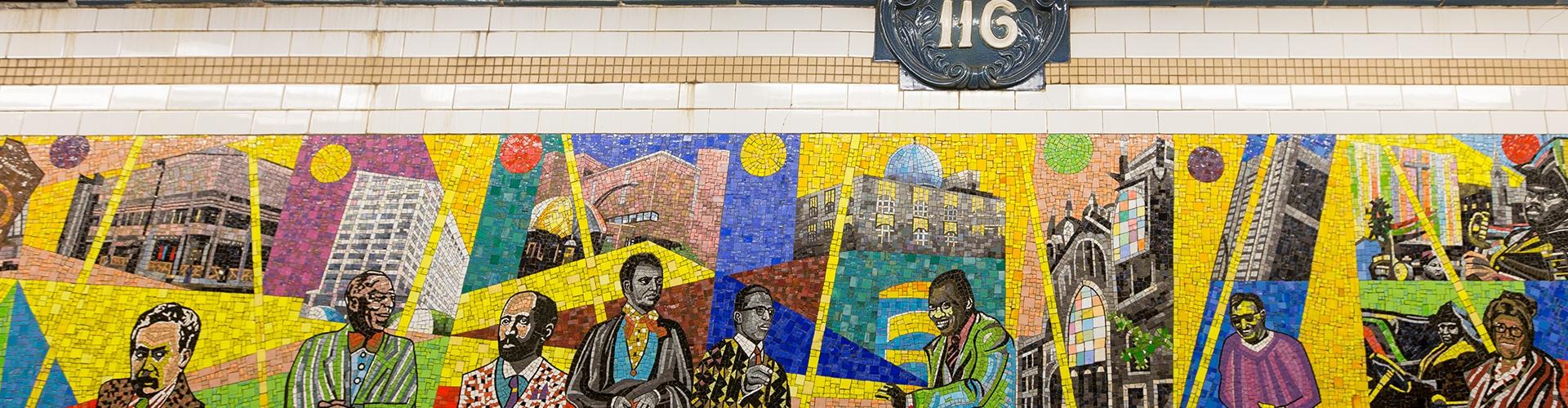 Dixon's Favorite Manhattan Subway Art