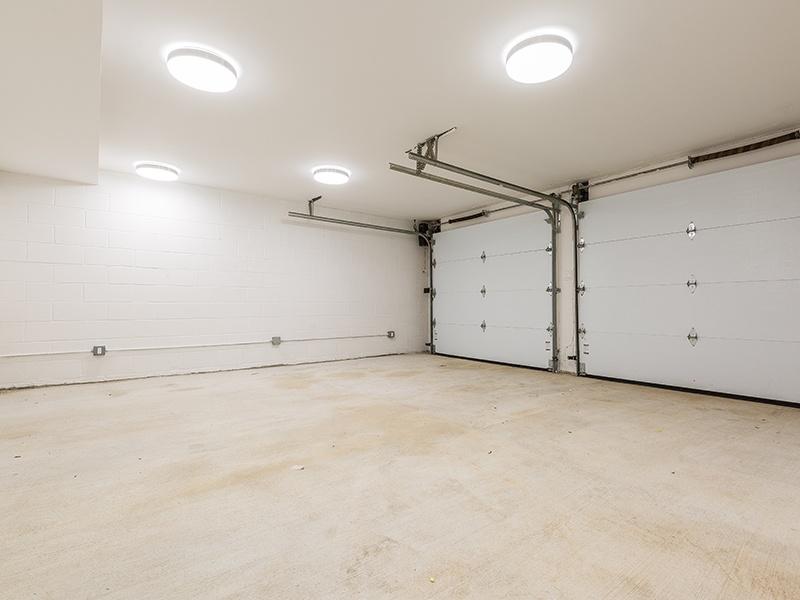renovated garage