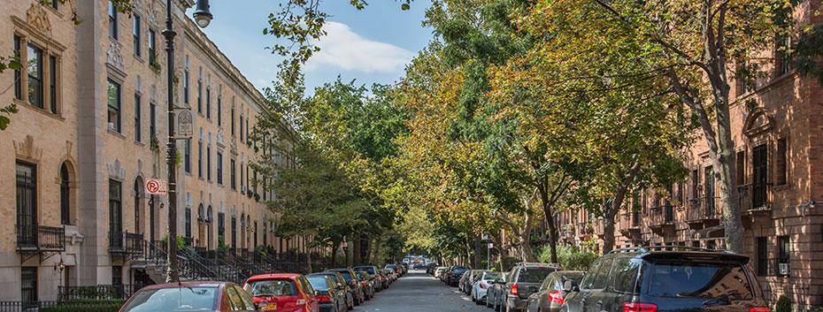 Striver's Row streetscape